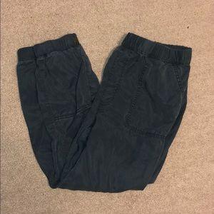 American Eagle Jogger Pants- Gray Blue Color- L
